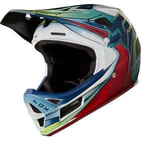 Fox Rampage Pro Carbon Kustom Helmet Men white/red/black